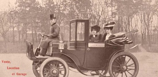 Premier fiacre automobile