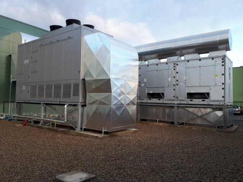 Installation du free-cooling air/air indirect